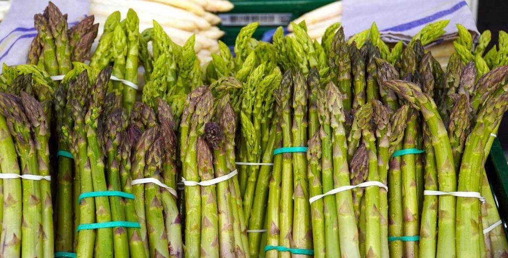jak przechowywać zielone szparagi
