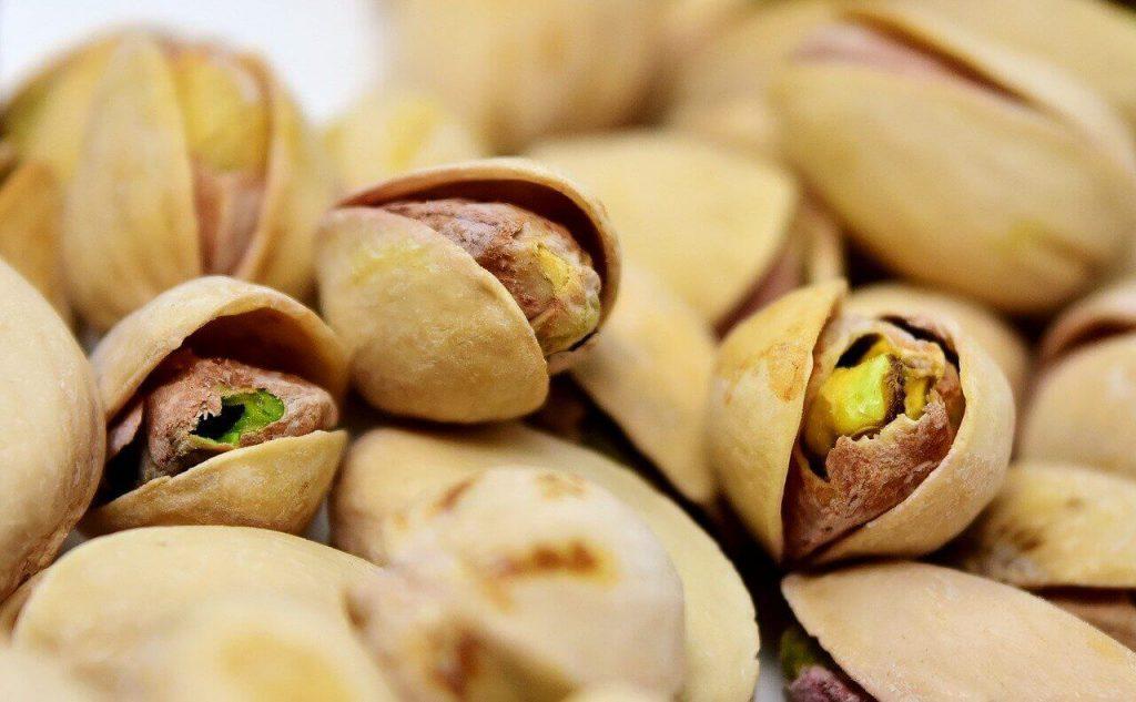 pistacje gdzie rosną