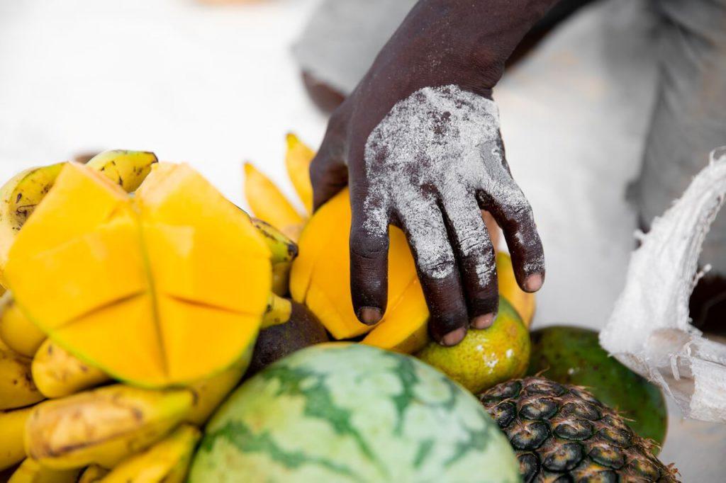 mango jak jeść