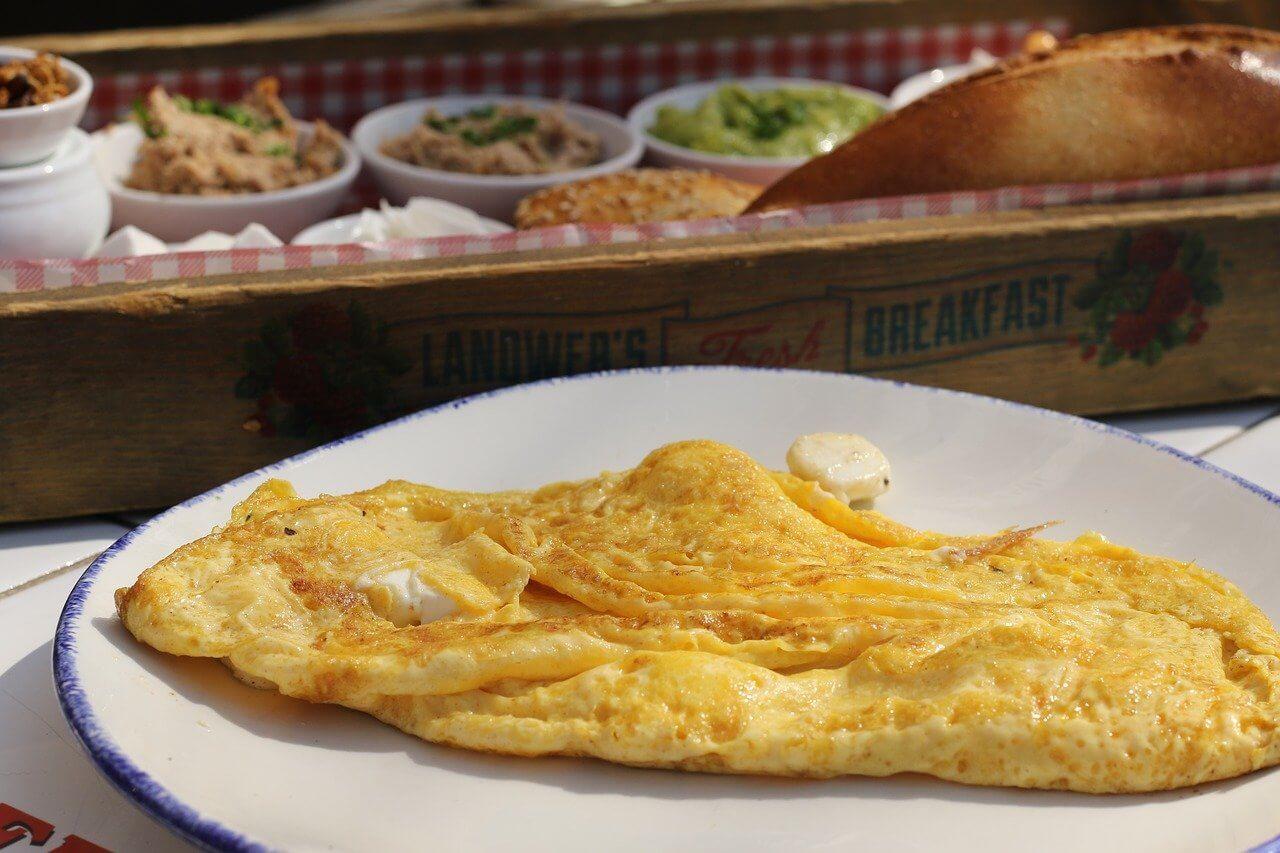 Omlet z marchewką na słodko – przepis
