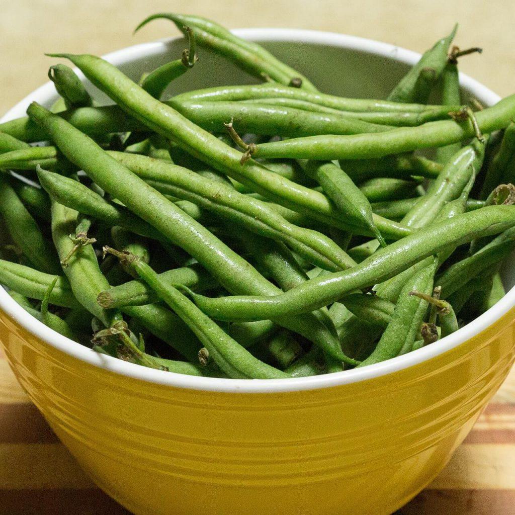 jak długo gotować fasolkę szparagową